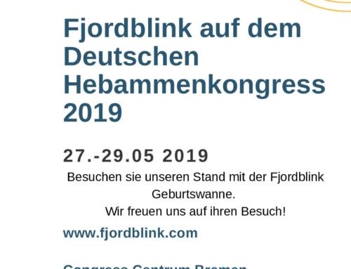 Fjordblink auf dem Deutchen Hebammenkongress 2019
